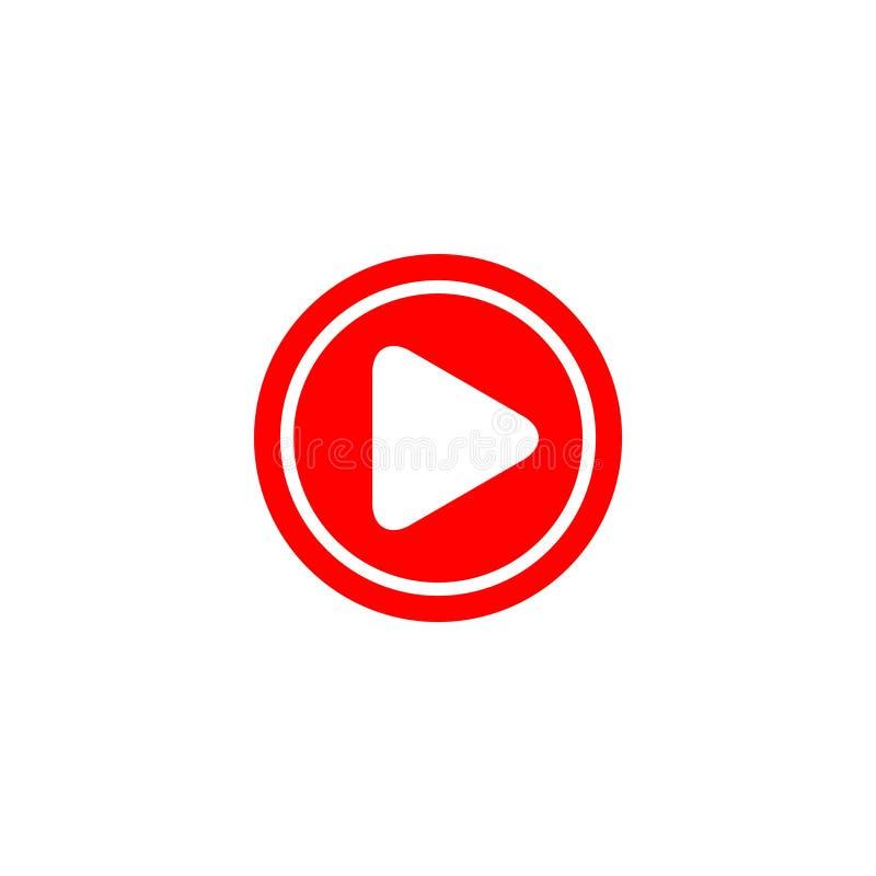 Иллюстрация дизайна шаблона вектора логотипа значка игры кнопки бесплатная иллюстрация