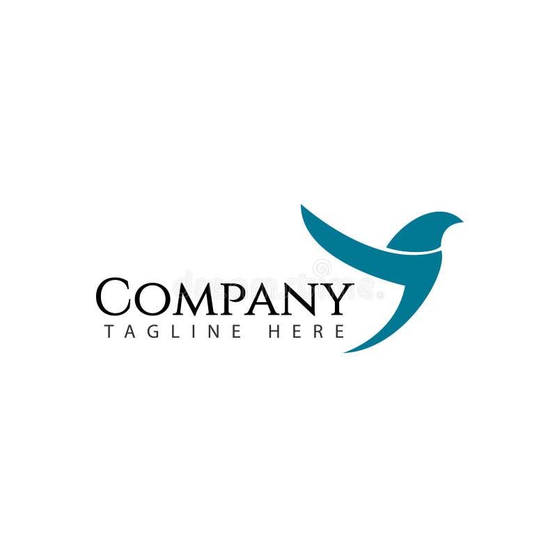 Иллюстрация дизайна шаблона вектора логотипа Птицы Компании бесплатная иллюстрация