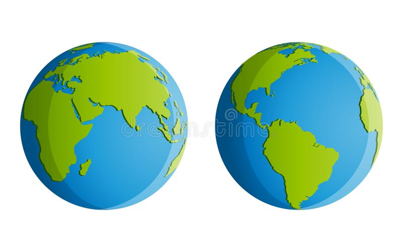 Иллюстрация земли планеты иллюстрация штока