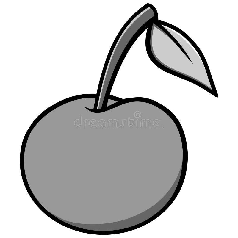 Иллюстрация значка вишни иллюстрация вектора