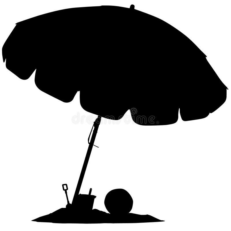 Иллюстрация зонтика пляжа crafteroks бесплатная иллюстрация