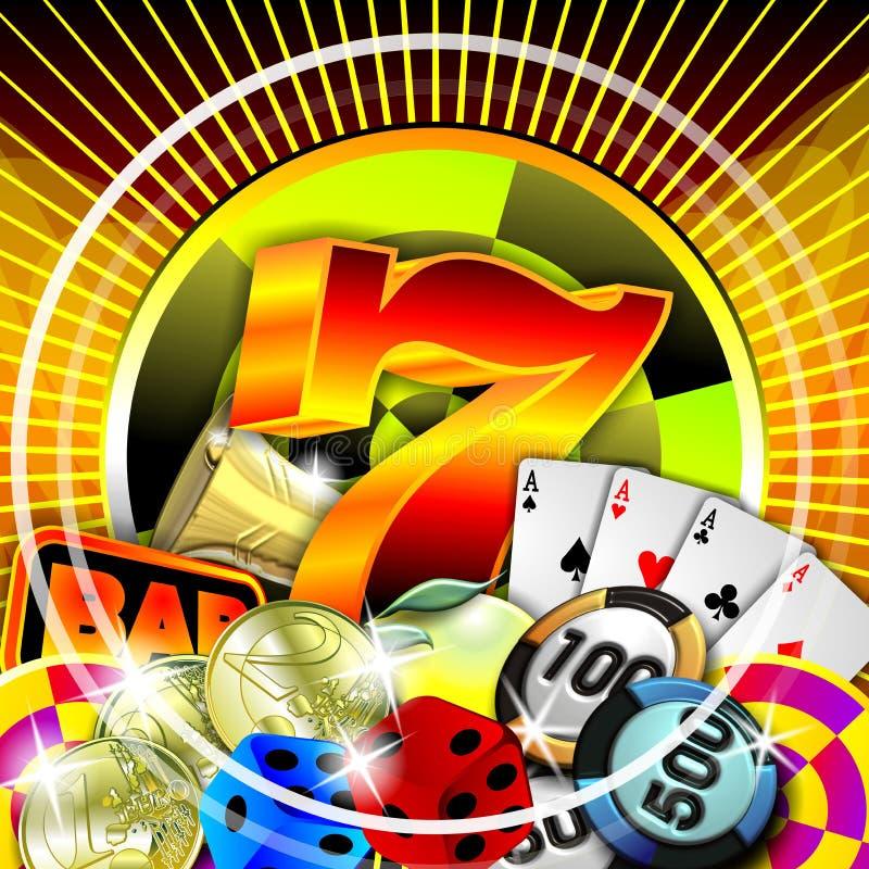 иллюстрация казино иллюстрация вектора