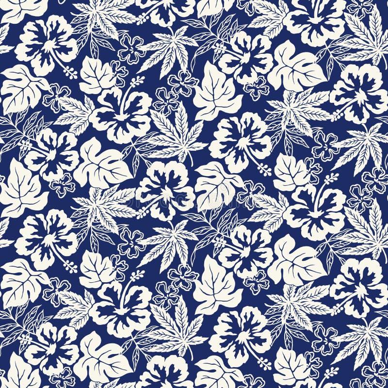 Иллюстрация картины цветка гибискуса, я нарисовал гибискус для конструировать его, иллюстрация вектора