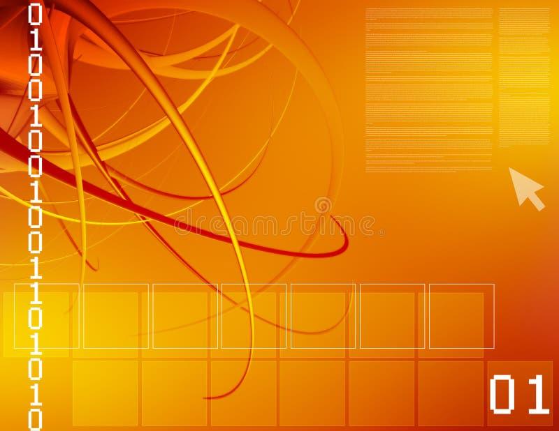 иллюстрация компьютера Стоковые Фото