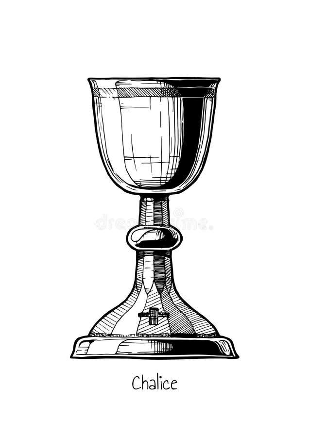 Иллюстрация кубка иллюстрация вектора