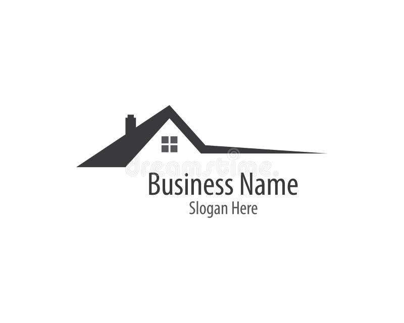 Иллюстрация логотипа дома стоковое изображение
