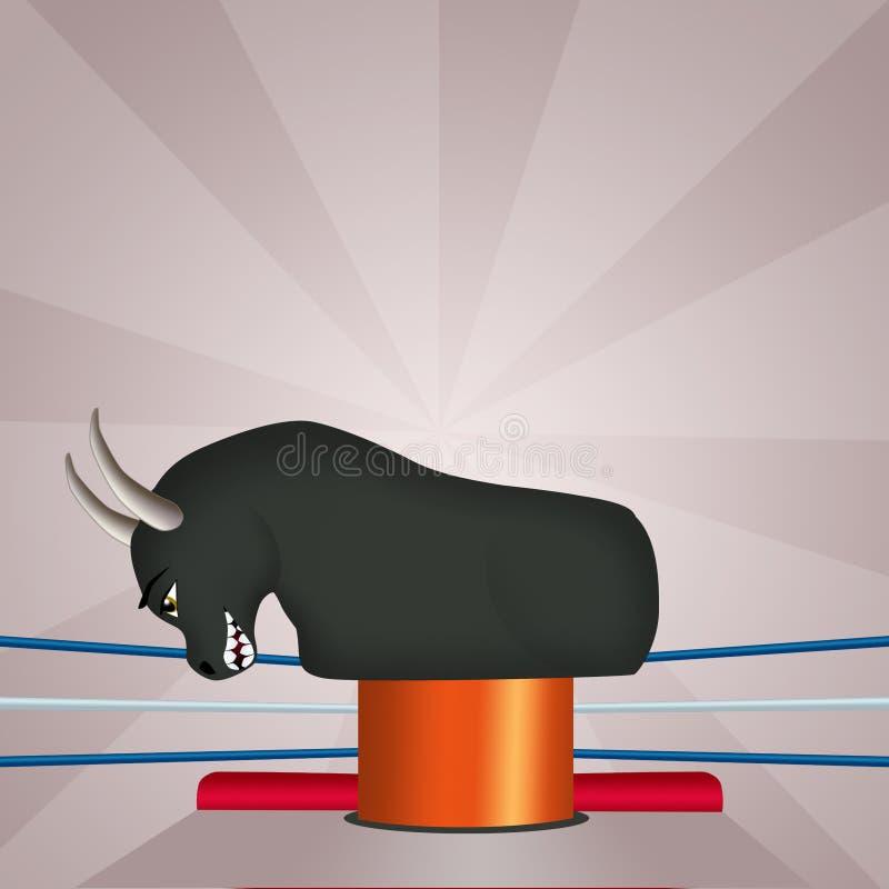 Иллюстрация механического быка бесплатная иллюстрация