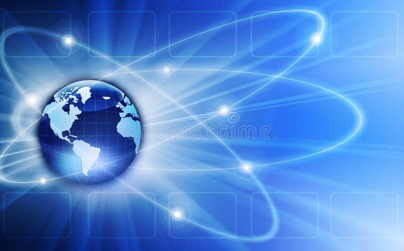 Иллюстрация мира стоковое изображение rf