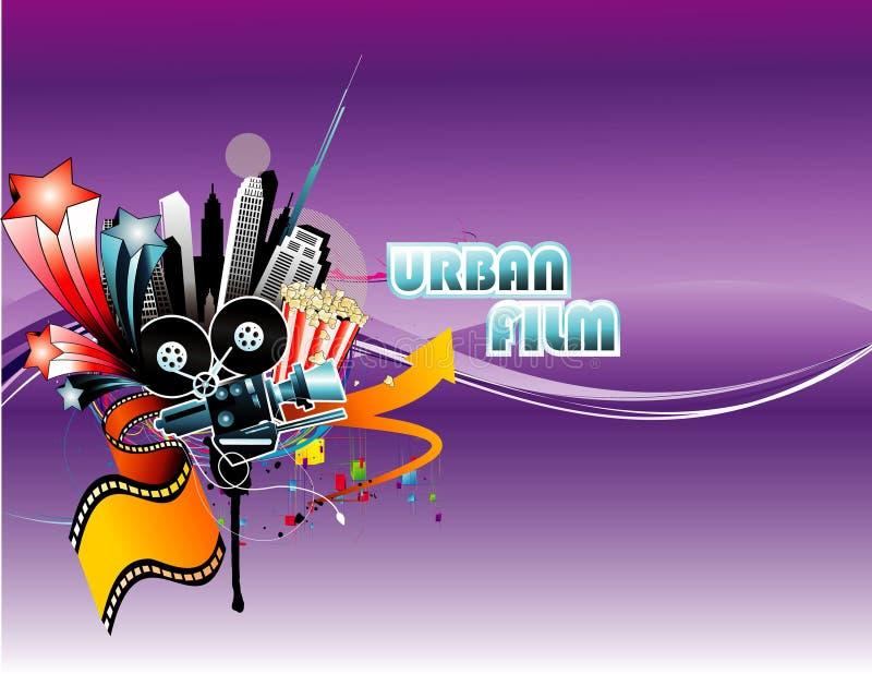 иллюстрация пленки для транспарантной съемки урбанская иллюстрация штока