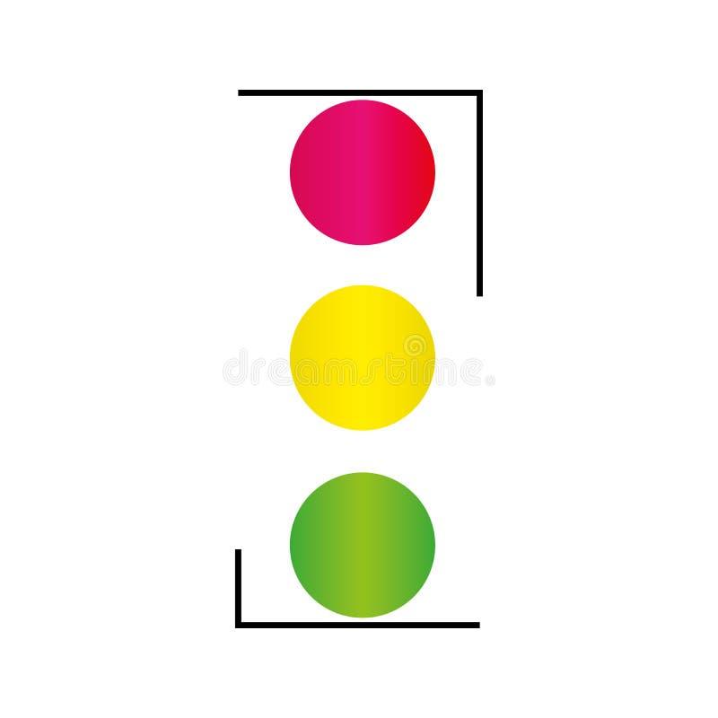 иллюстрация предпосылки изолировала светлую белизну вектора вариантов движения иллюстрация вектора