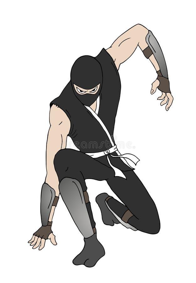 Иллюстрация ратника Ninja бесплатная иллюстрация