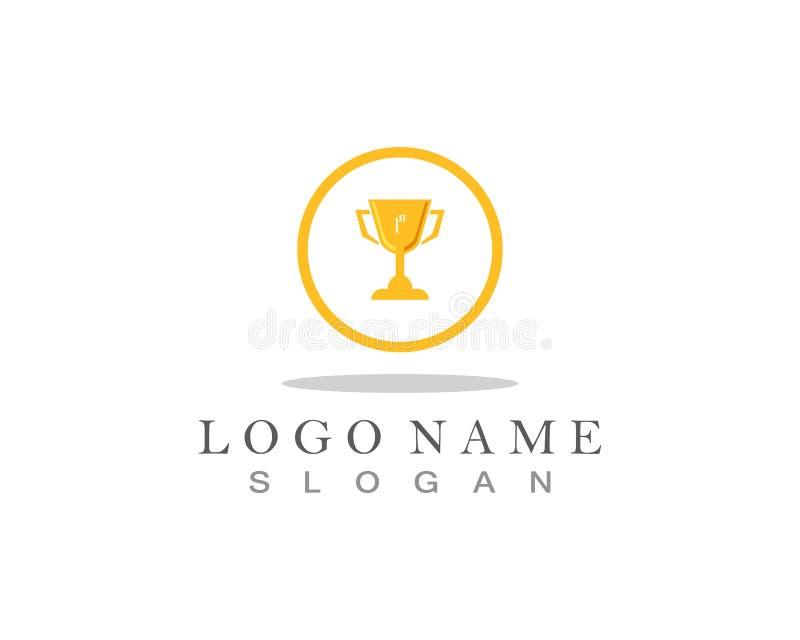 Иллюстрация символа победителя значка вектора чашки трофея бесплатная иллюстрация