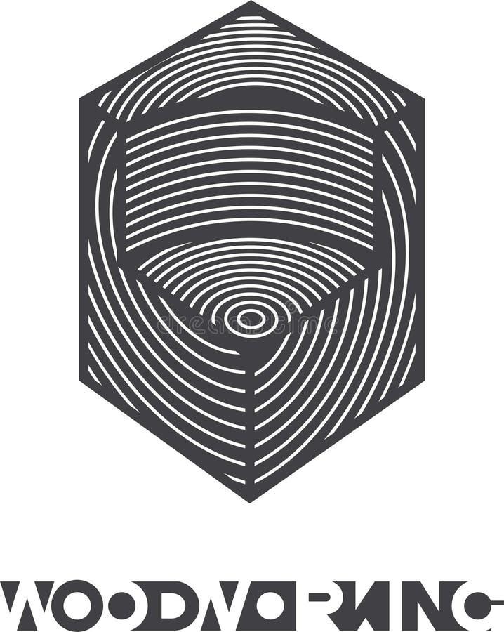 иллюстрация состоя из изображения спиленного куска дерева иллюстрация штока