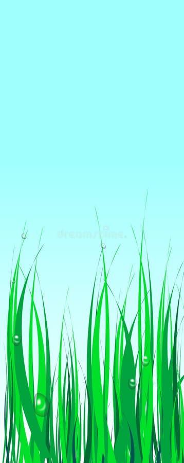 иллюстрация травы иллюстрация вектора
