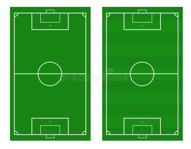 Иллюстрация футбольного поля Предпосылка футбольного поля или футбольного поля иллюстрация штока