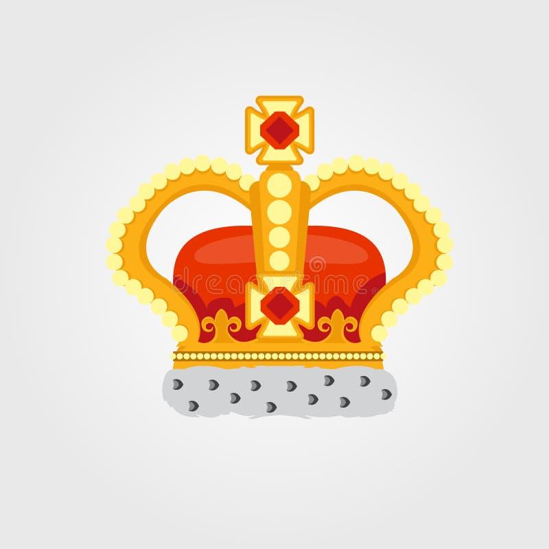 Иллюстрация цвета короны иллюстрация штока