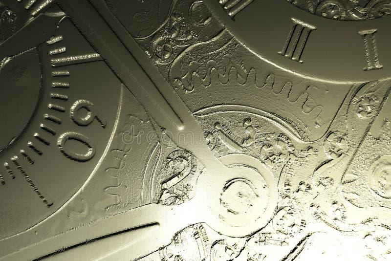 Иллюстрация цифров Clockwork иллюстрация штока
