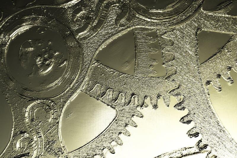 Иллюстрация цифров Clockwork иллюстрация вектора