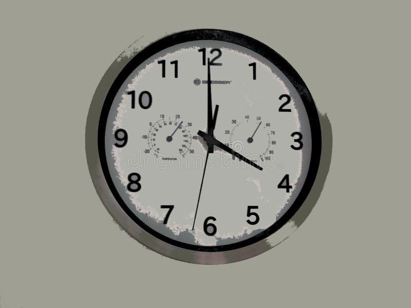 ИЛЛЮСТРАЦИЯ часов стоковая фотография