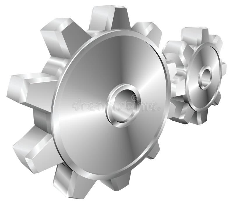 иллюстрация шестерен cogs механически бесплатная иллюстрация