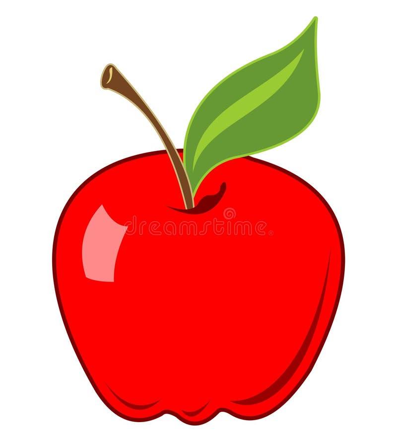 иллюстрация яблока иллюстрация вектора