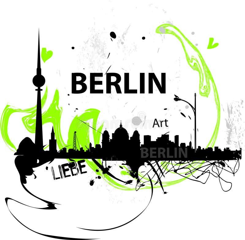 иллюстрация berlin стоковые фото