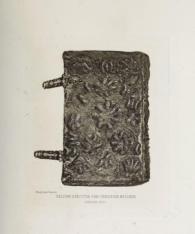 Иллюстрация Bookbinding стоковая фотография rf