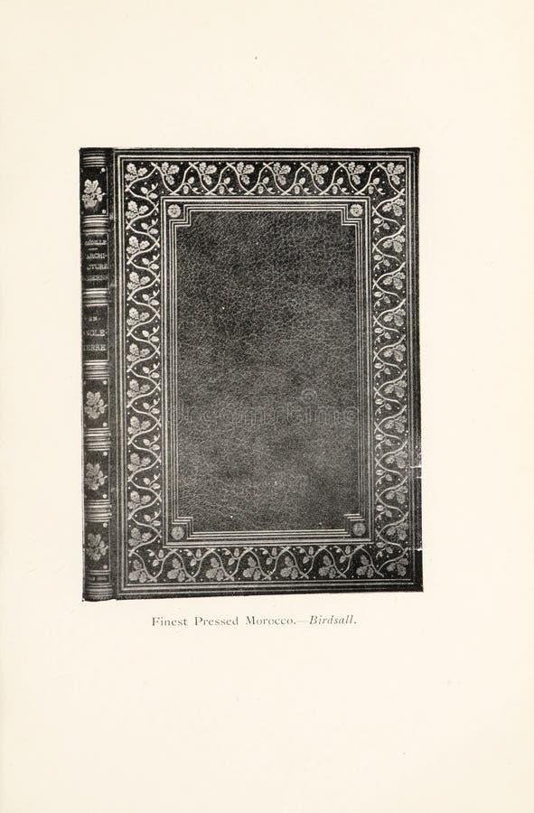 Иллюстрация Bookbinding стоковые фото