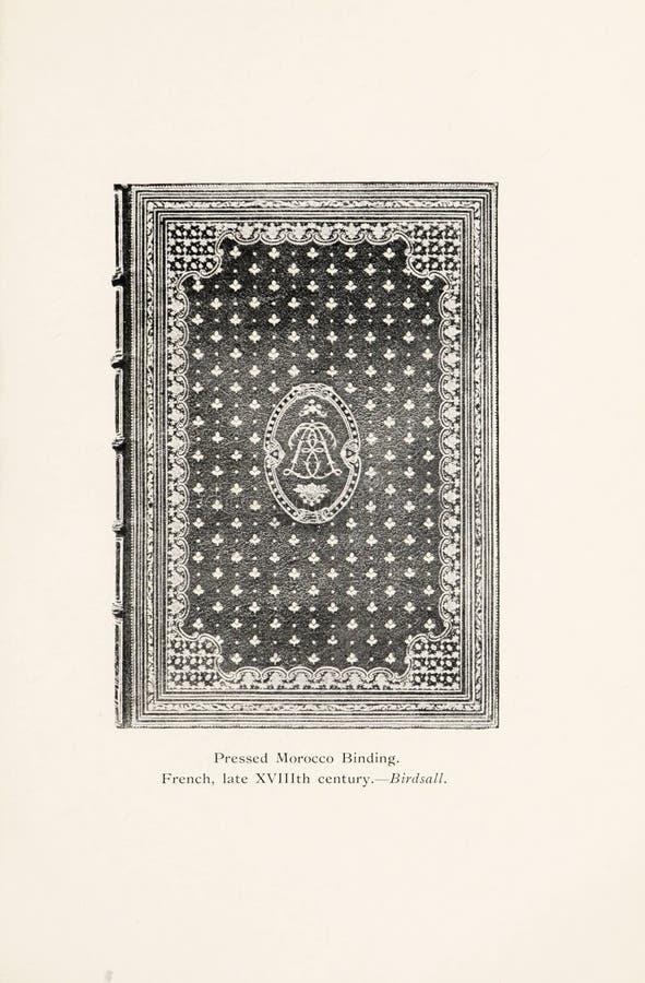 Иллюстрация Bookbinding стоковые изображения
