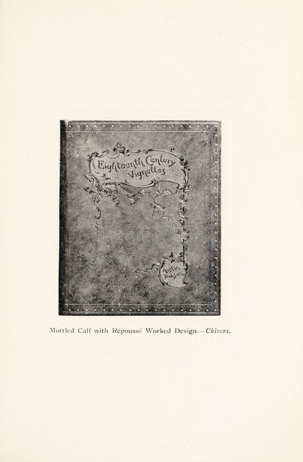 Иллюстрация Bookbinding стоковая фотография