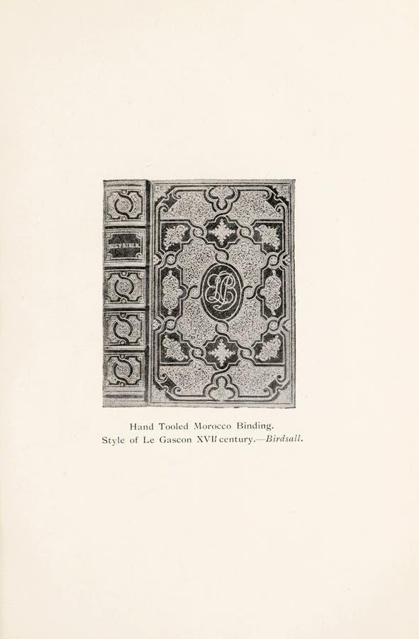 Иллюстрация Bookbinding стоковое фото