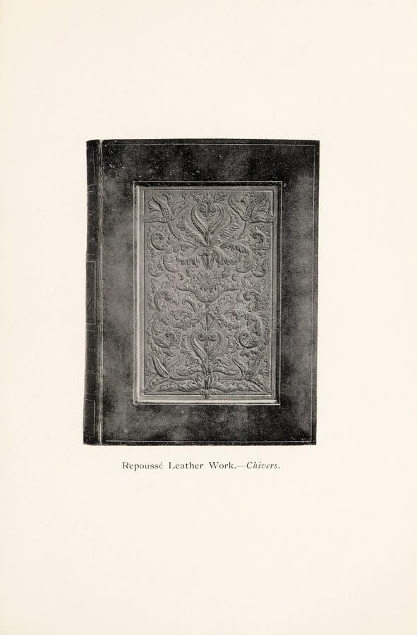 Иллюстрация Bookbinding стоковое фото rf