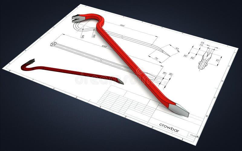 иллюстрация 3D лома бесплатная иллюстрация