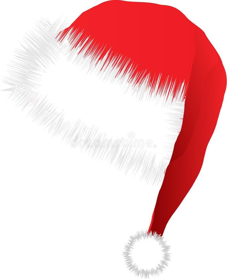 иллюстрация santa шлема иллюстрация вектора