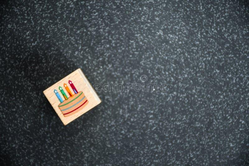 именниный пирог миражирует вектор иллюстрации стоковые фото