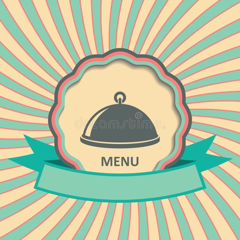 имеющийся вектор ресторана меню конструкции иллюстрация штока