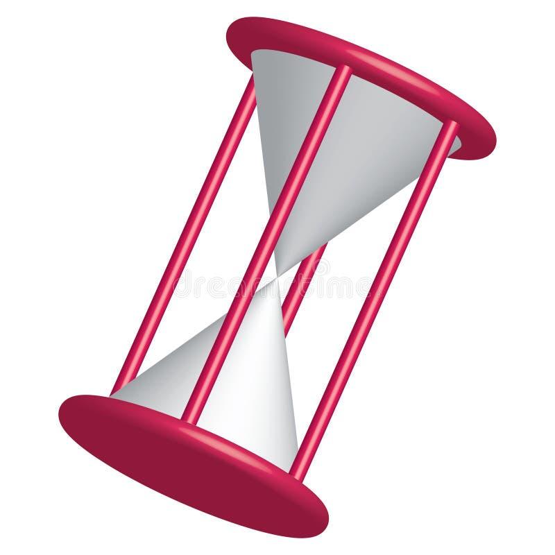 имеющийся вектор hourglass стоковые фото