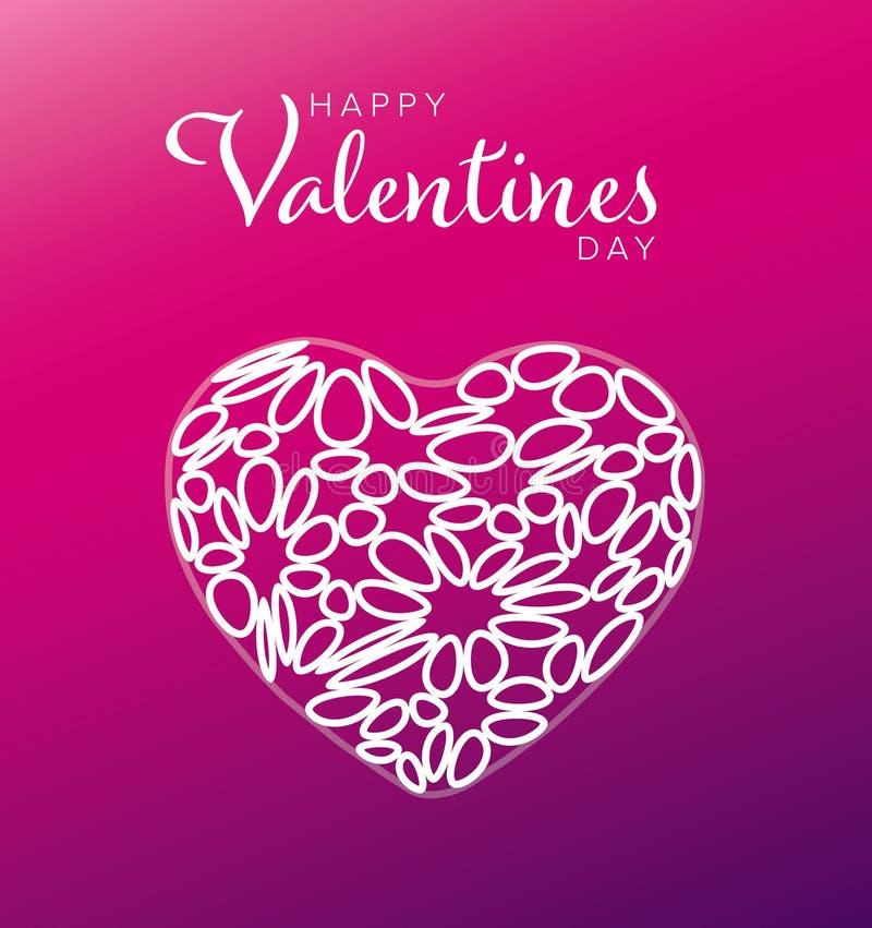 имеющийся вектор valentines архива дня карточки бесплатная иллюстрация