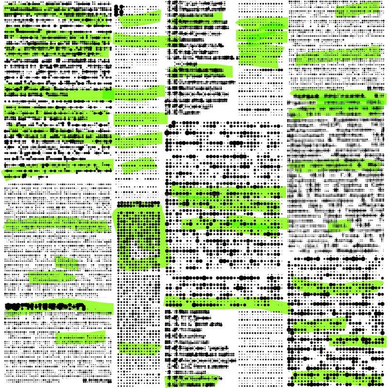 Имитация газеты иллюстрация штока