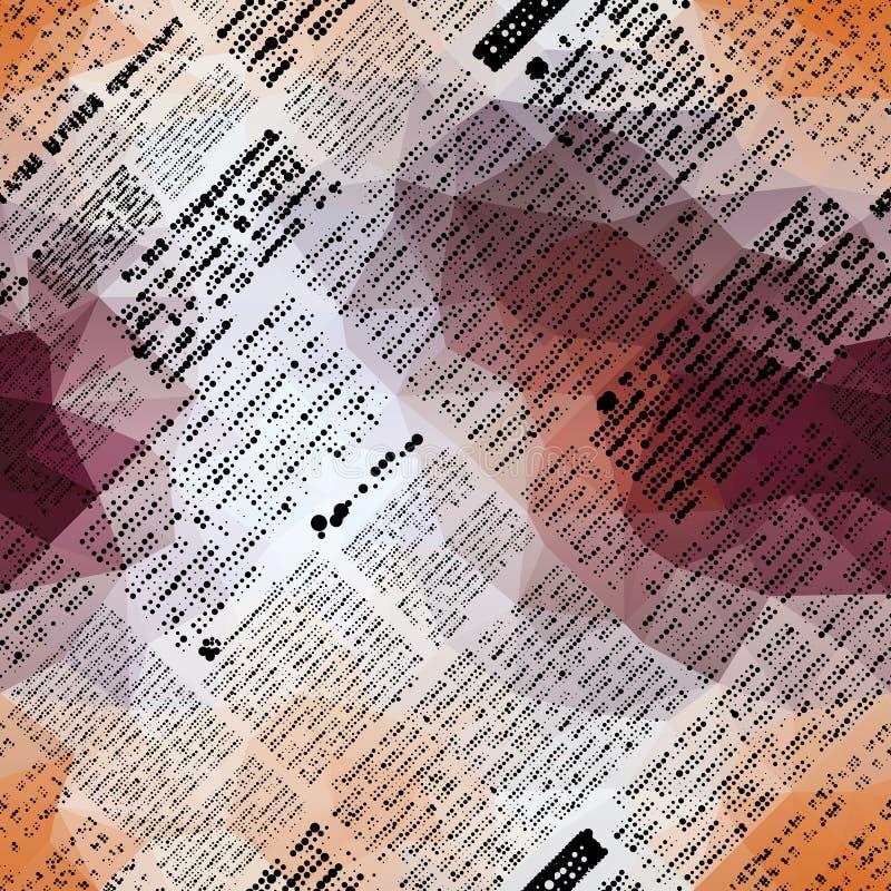 Имитация газеты иллюстрация вектора