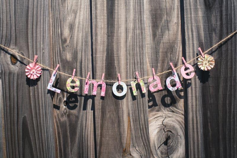 Download лимонад стоковое фото. изображение насчитывающей сообщение - 40585326
