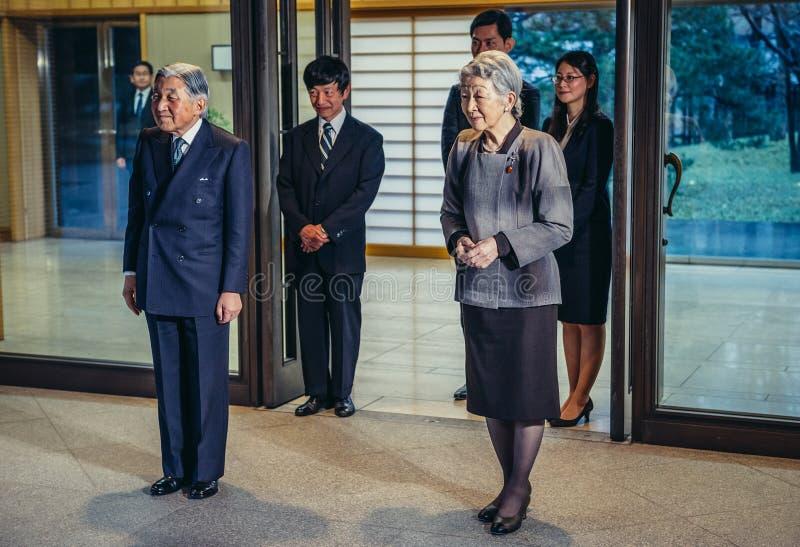 Император Японии стоковая фотография rf
