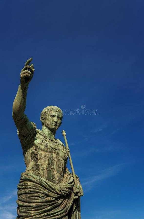 Император Augustus Рима стоковая фотография