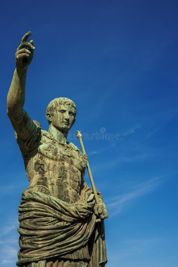 Император Augustus Рима стоковые фото