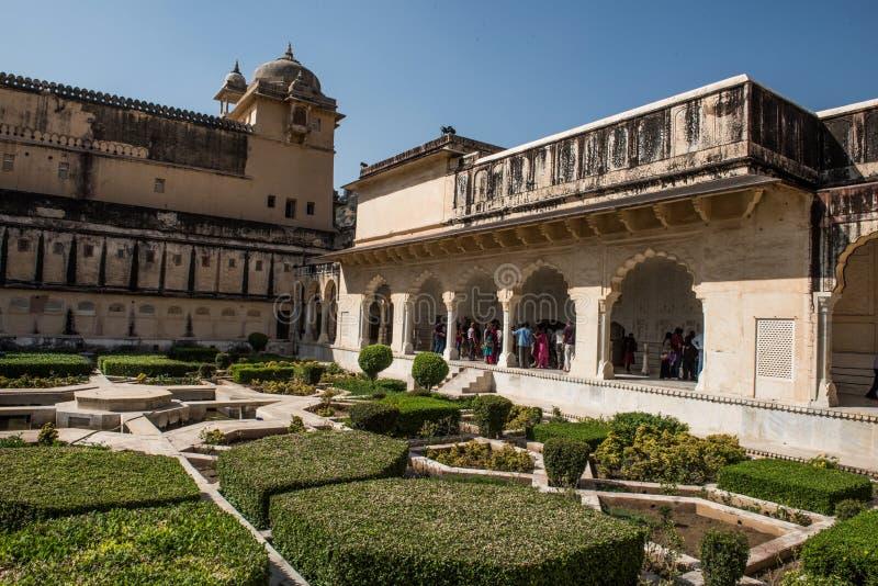 Имперские янтарные сады форта стоковые изображения