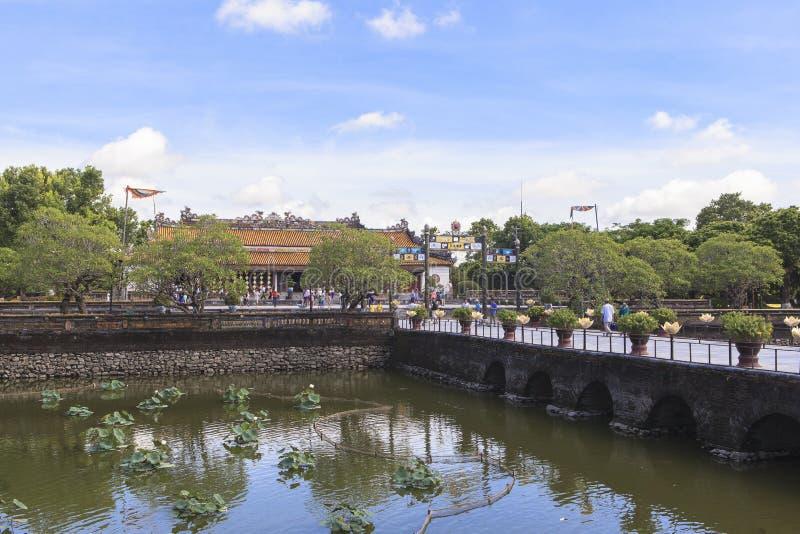 Имперский город в оттенке, Вьетнам стоковое изображение