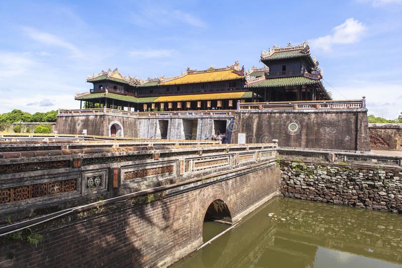 Имперский город в оттенке, Вьетнам стоковые изображения