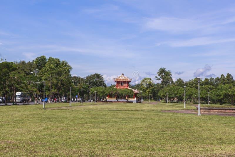 Имперский город в оттенке, Вьетнам стоковая фотография