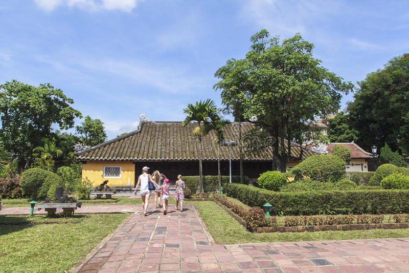 Имперский город в оттенке, Вьетнам стоковые фото