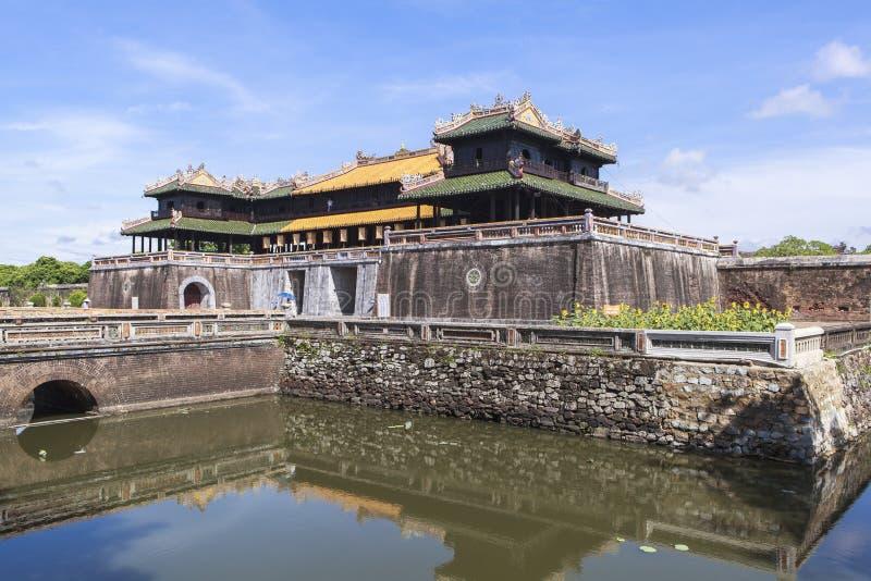 Имперский город в оттенке, Вьетнам стоковые изображения rf